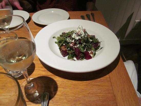 Stinson Beach, CA: Beet salad $13