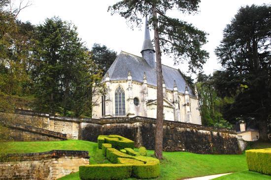 Montreuil-Bellay, France : Chapel