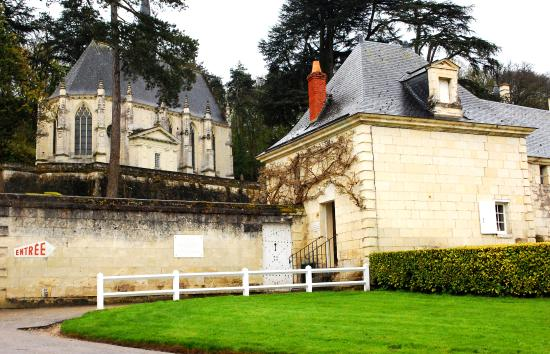 Montreuil-Bellay, France : Entrance and Chapel