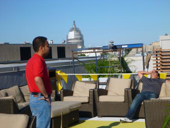 the rooftop picture of holiday inn washington capitol rh tripadvisor com