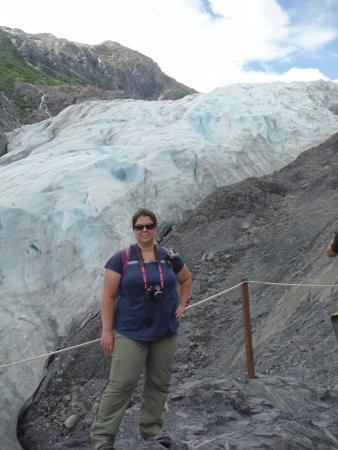 Kenai Fjords Nationalpark, AK: As close as I could get