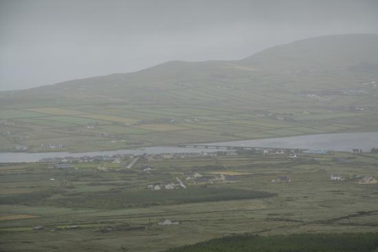 Distant view of Portmagee