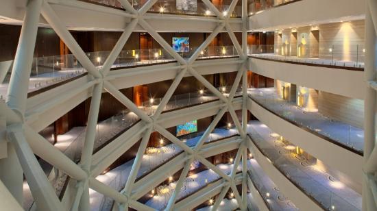 Andaz Capital Gate Abu Dhabi - a concept by Hyatt: internal view hotel