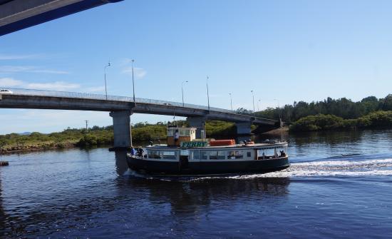 Tea Gardens, Australia: Singing Bridge