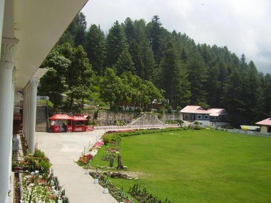 Nathia Gali, Pakistan: garden