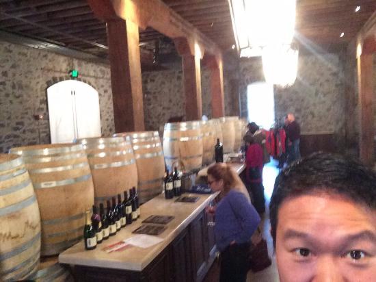 Geyserville, CA: wine!