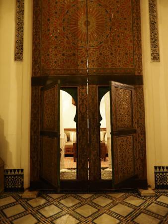 Dar Seffarine: 部屋のドア