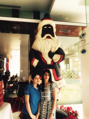 Ibis Bengaluru Techpark Chocolate Santa At Novotel Arur Outer Ring Road