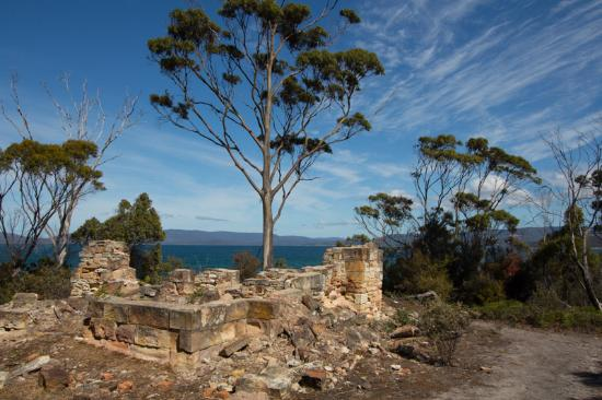 Saltwater River, Avustralya: View from the ruins