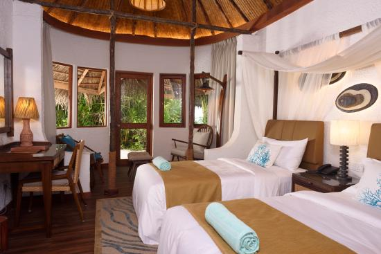 Makunudu Island - Twin Bedroom Villa