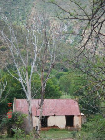 Eastern Cape, Sør-Afrika: Old house in the Baviaanskloof