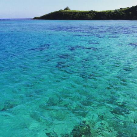 Piti, หมู่เกาะมาเรียนา: 海の透明度は抜群