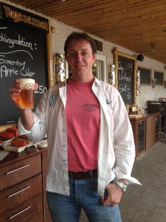 Hügelsheim, Deutschland: der nette Chef