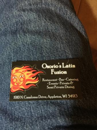 Osorio's Latin Fusion: photo0.jpg