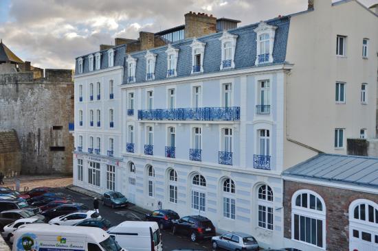 Hotel de France et Chateaubriand: Hotel France et Chateaubriand côté mer