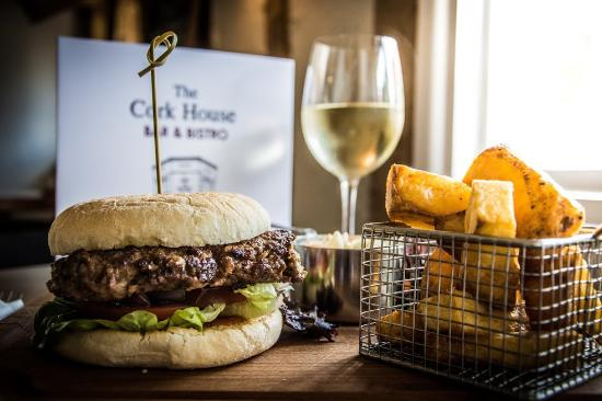 The Cork House Bar Bistro: The Cork House Burger