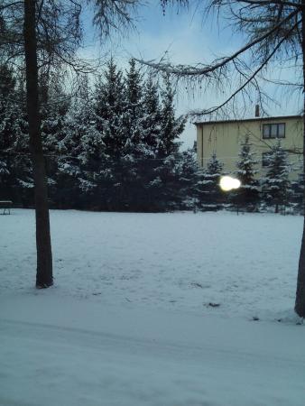 Konstantynow Lodzki, Polen: вид из окна