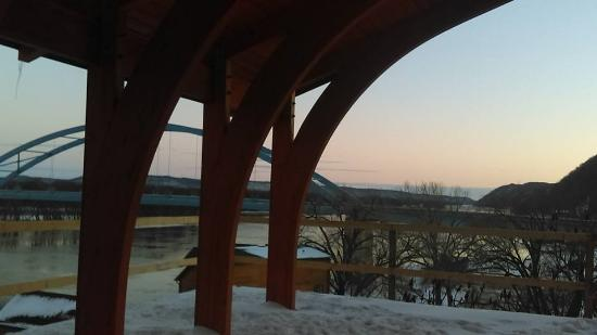 Cobblestone Inn and Suites Marquette, IA/Prairie Du Chien: Overlook