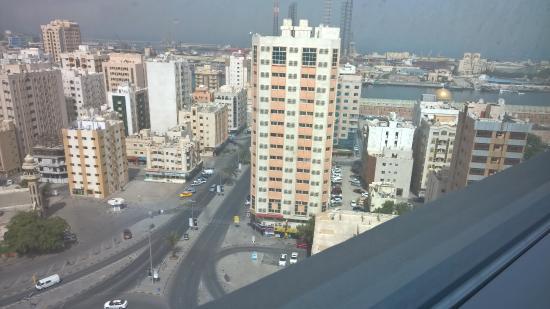 Swiss-Belhotel Sharjah : View from the 17th Floor