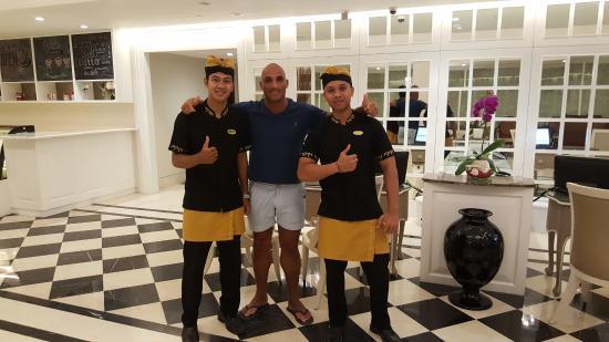 Perfect Staff Picture Of Hotel Santika Seminyak Seminyak