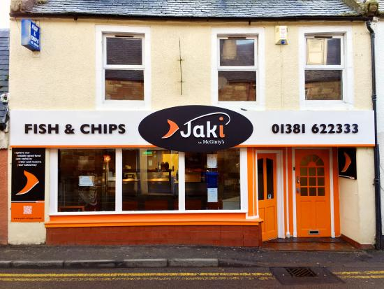 Fortrose, UK: The new look of Jaki t/a McGinti's
