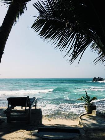 Blue Sky Beach Resort : терраса