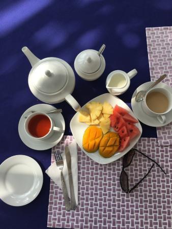 Blue Sky Beach Resort : Завтрак
