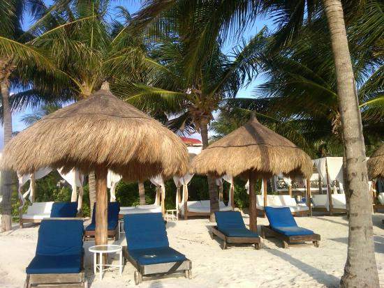 desire riviera maya resort blue beach lounge chairs beach club desire pto morelos - Beach Lounge Chairs