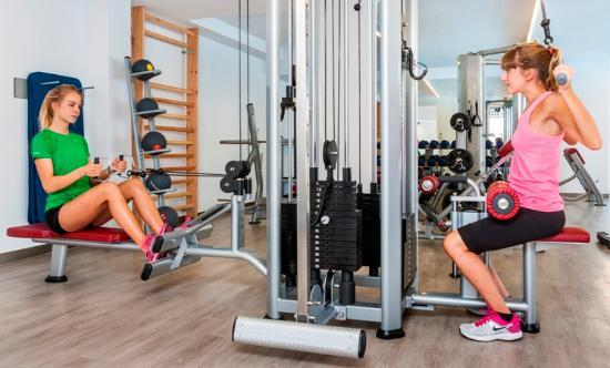 Hoposa Hotel & Apartments Villaconcha: New modern gym 1