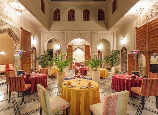 Riad Andalib : Patio Restaurant