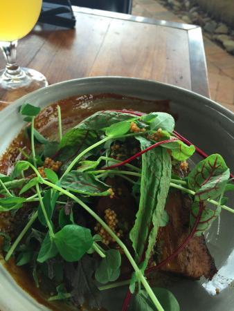 Ewingsdale, Avustralya: Beef brisket with coffee rub