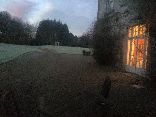 Dunbrody Country House Hotel: DH - view from room at dawn