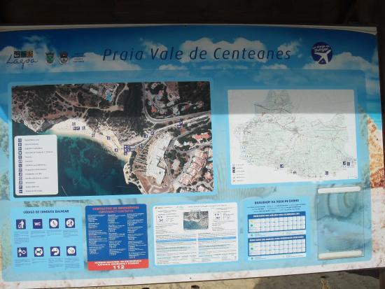 Lagoa, Portugal: Inlichtingenbord