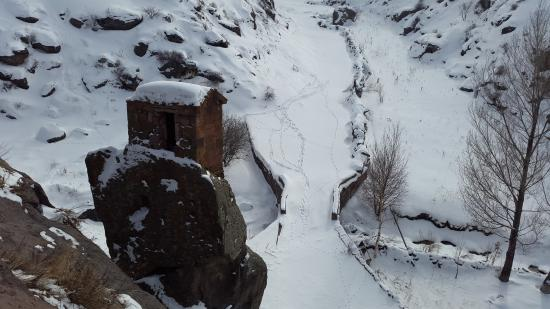 Shirak Province, Armenia: A part which is separated from the main building