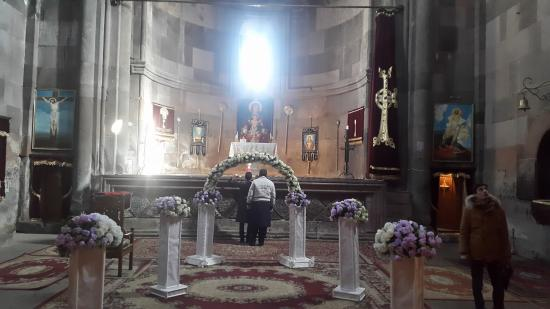 Shirak Province, Armenia: Inside the main church