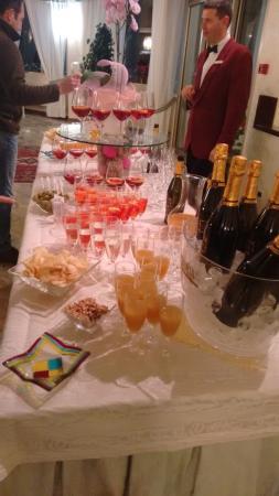 Hotel Abano Verdi Terme: aperitivo del venerdi sera