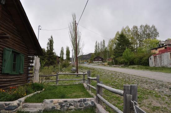 Cabanas del Meson: Vista da cabaña