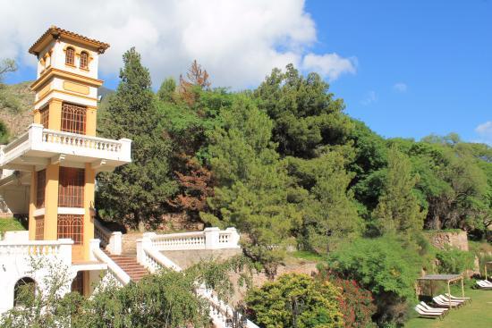 Hotel & Spa Termas Cacheuta: Vista desde la habitación