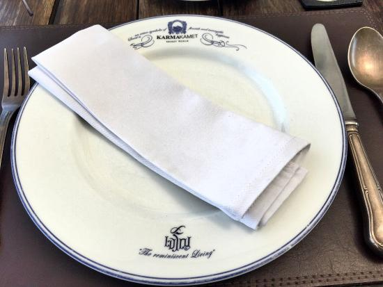 Le Jaroen Restaurant: Nice cutleries