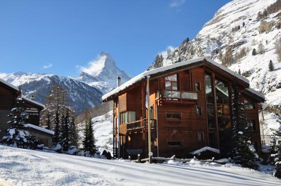 Suitenhotel Zurbriggen : l'hôtel avec vue imprenable sur le Cervin
