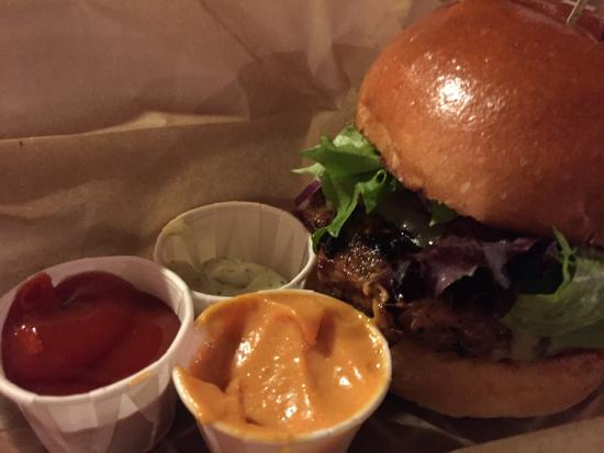 South Royalton, VT: Turducky burger!