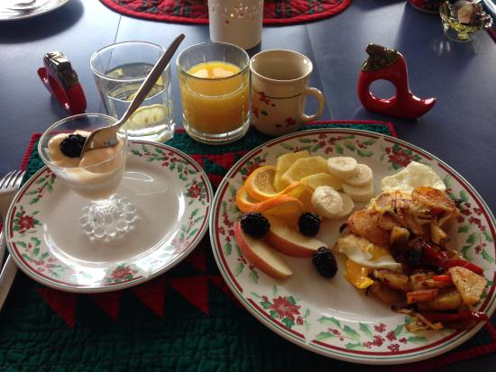 The Jeremiah Inn Bed and Breakfast : Delicious breakfast
