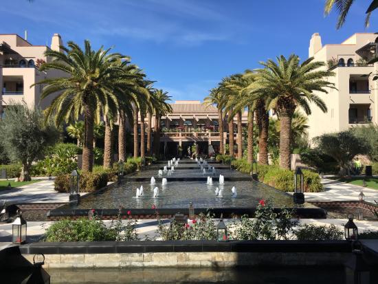 Four Seasons Resort Marrakech: Main fountain