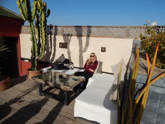 terrasse sur le toit picture of bellamane ryad spa. Black Bedroom Furniture Sets. Home Design Ideas