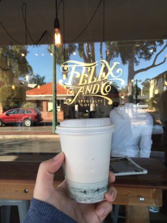 Nedlands, Αυστραλία: pretty cups, great coffee