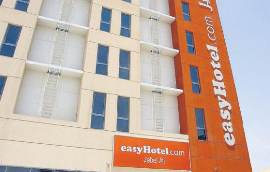 easyHotel Dubai, Jebel Ali: out side view