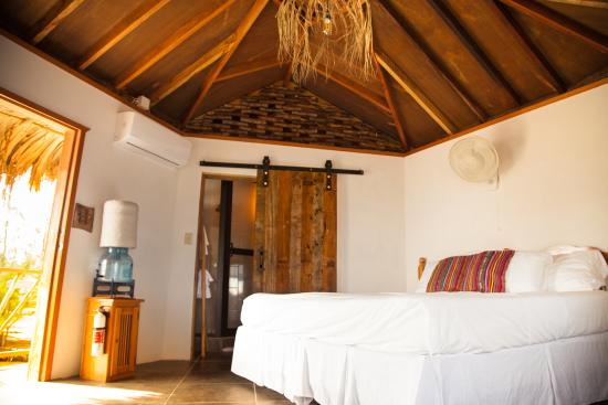 overwater bungalow bedroom picture of thatch caye a muy ono rh tripadvisor ie