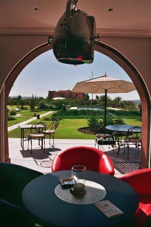 Restaurant Sultana Royal Golf: Terraza