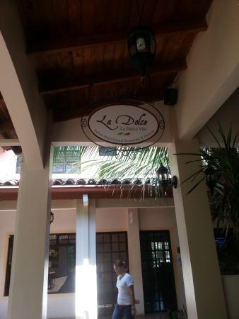 Tropical Gardens Suites & Apartments: Restaurante La Dolce Vita