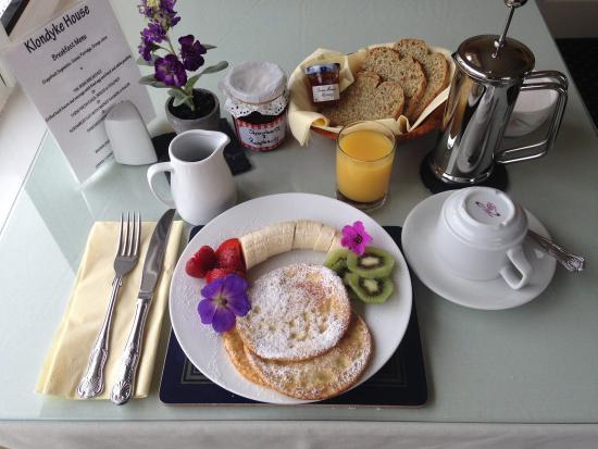 วอเตอร์วิลล์, ไอร์แลนด์: Breakfast